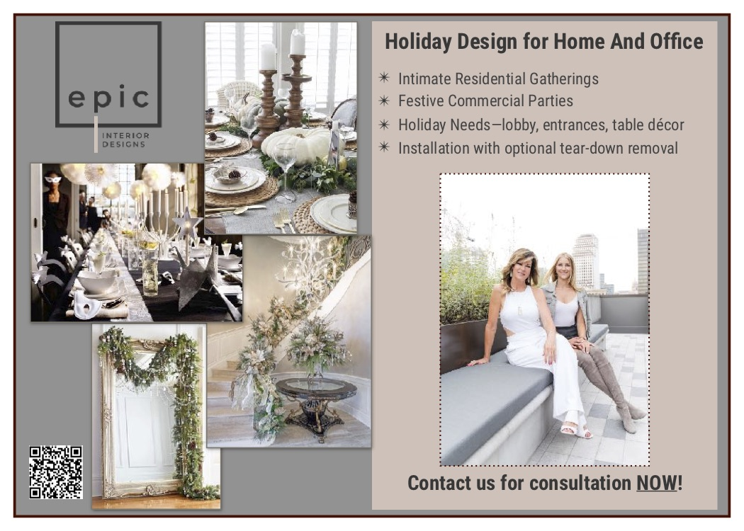 Holiday Design for Home and Office